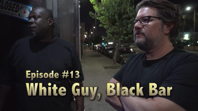 White Guy, Black Bar